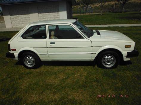 honda 3 door hatchback 1981 honda civic 3 door hatchback 88k actual