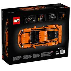 Lego Technic Porsche 911 Lego Technic Porsche 911 Gt3 Rs The Awesomer