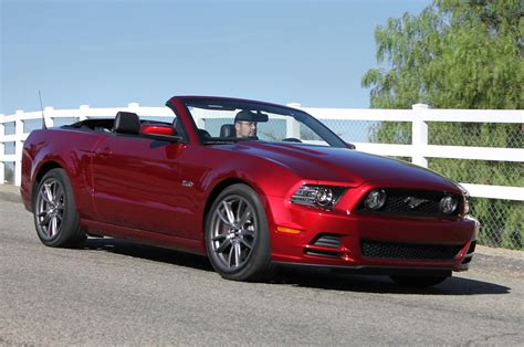convertible mustang 2014 ford mustang reviews and rating motor trend