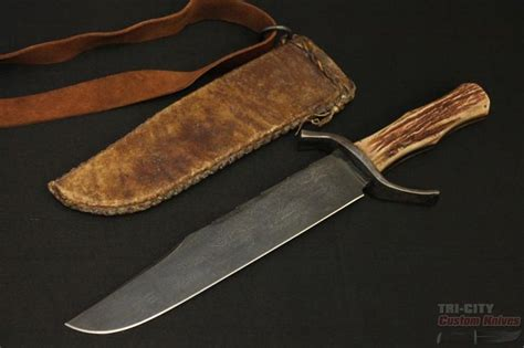 Handmade Bowie Knives For Sale - 1000 ideas about bowie knives on knives