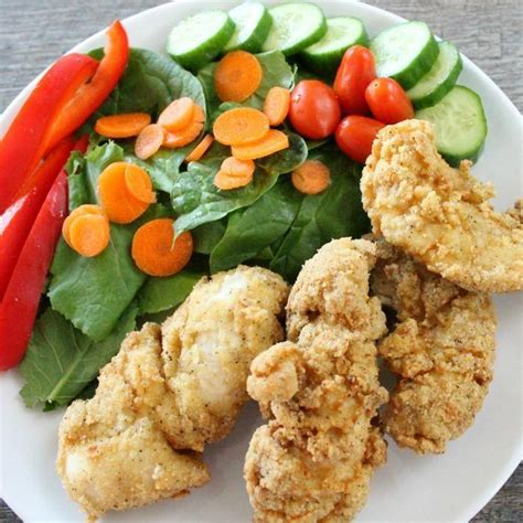 something different for dinner tonight gluten free chicken tenders recipe made with almond flour