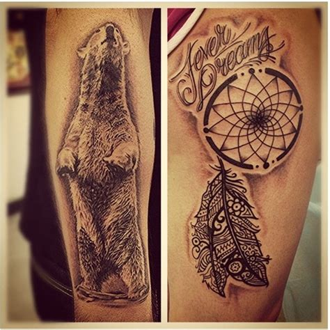 wolf and dreamcatcher tattoo designs another beautiful dreamcatcher