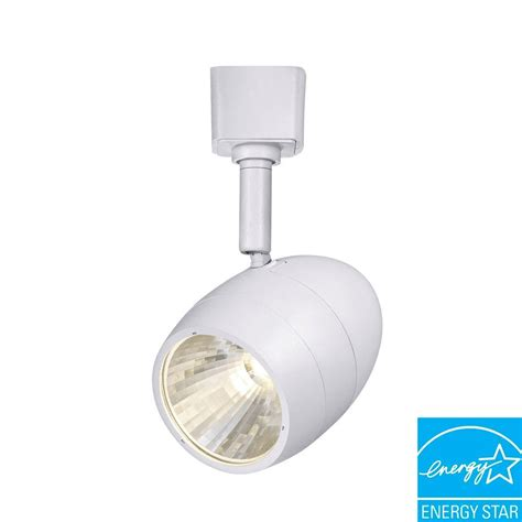 Led Track Lighting Heads by Hton Bay 2 56 In 1 Light White Dimmable Led Track