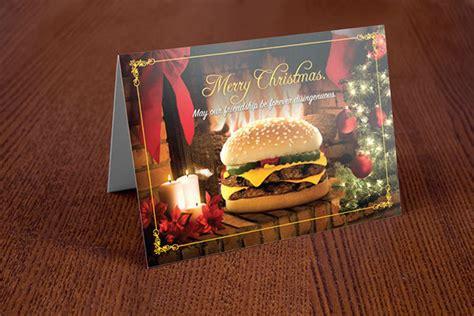 burger king holiday cards  behance