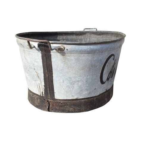 zinc bathtub for sale antique french large zinc quot cote de provence quot tub for sale