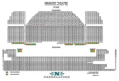 king broadway interactive seating chart arts america berkshires broadway and beyond quot go free