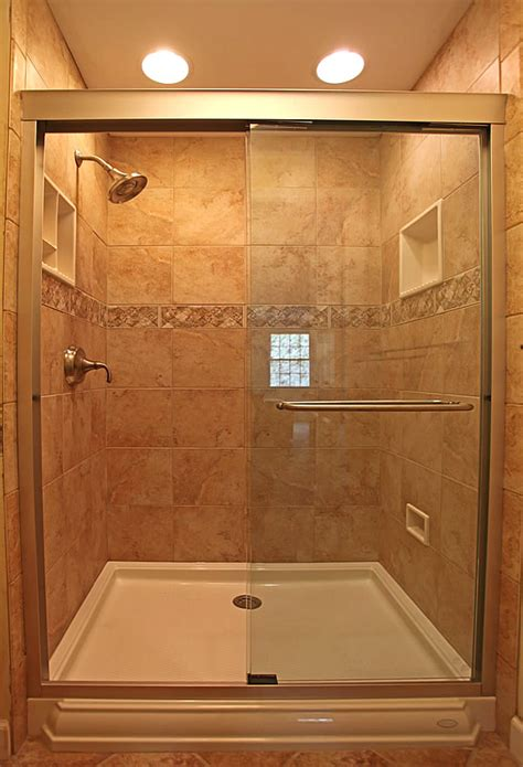 tiled shower ideas for bathrooms small bathroom remodeling fairfax burke manassas remodel