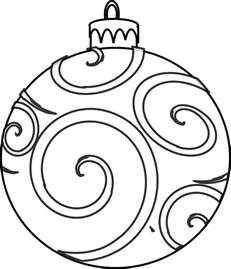 ornaments coloring pages printable colour and design your own ornaments printables