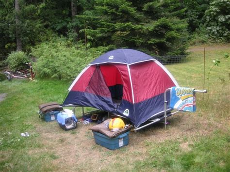 Bicycle Sleeper Trailer by The Bicycle Rv Cer Mtbr