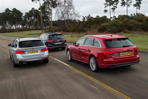 Audi A4 Avant Vs Bmw 3 Series Touring by Audi A4 Avant Vs Bmw 3 Series Touring Vs Vw Passat Estate