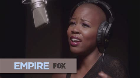 bald head singer on empire singer v bozeman dishes on what it s like working with