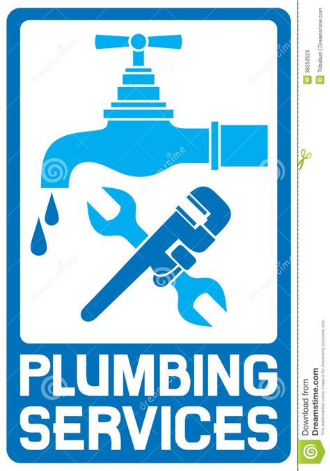 Plumbing Free by Repair Plumbing Symbol Stock Vector Image Of Label Home
