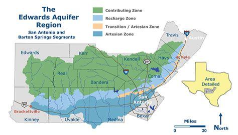 san jose water hardness map the edwards aquifer website
