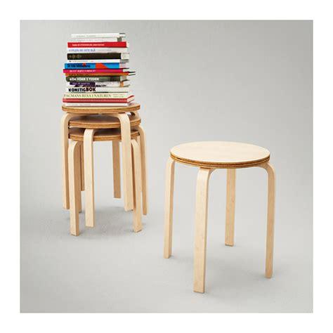 frosta stool birch plywood ikea