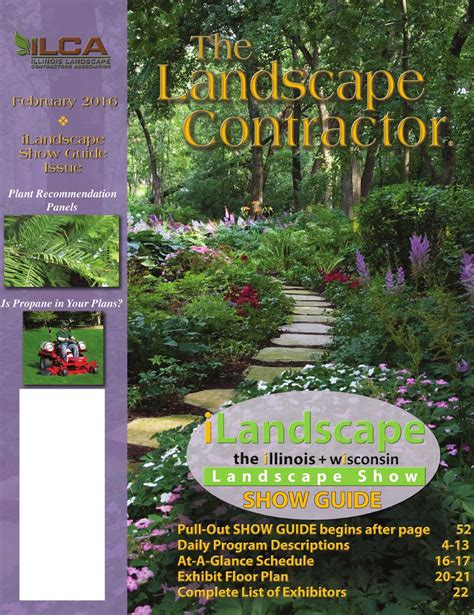 the landscape contractor magazine february 2016 by