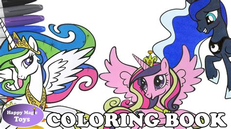 mlp coloring book mlp coloring book page compilation princess celestia