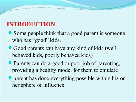 what a great slide show what is a parent