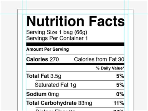 nutrition facts label template vector nutrition facts label template ai free psd vector