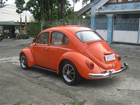 orange volkswagen beetle machmachine 1968 volkswagen beetle specs photos