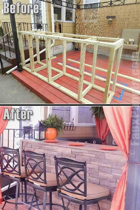 portable outdoor bar plans woodworking projects plans