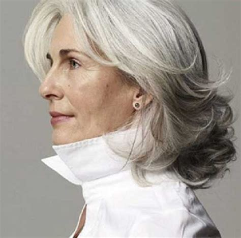 stylish cuts for gray hair 20 new haircuts for women over 50 long hairstyles 2017