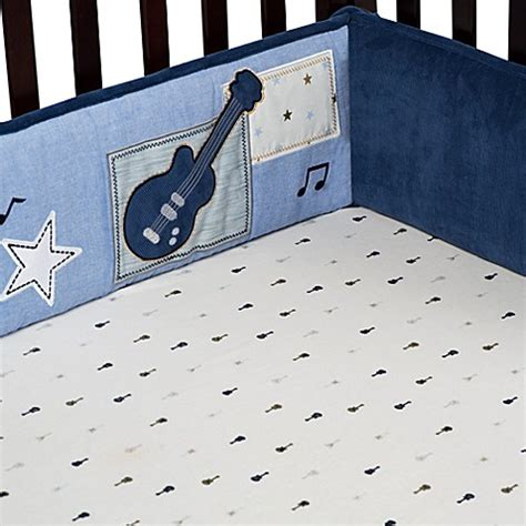 Rockstar Crib Bedding Buy S 174 Monkey Rockstar Crib Bumper From Bed Bath Beyond