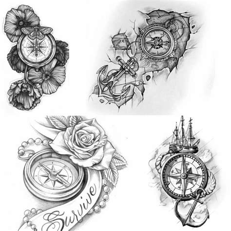 compass tattoo designs meaning compass designs popular ideas for compass tattoos