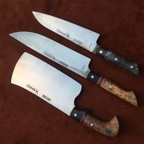 Handmade Steel Kitchen Custom Chef Knives In Houston Tx