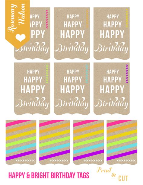 printable anniversary gift tags i heart rosemary watson a journal from 2012 2013 how to