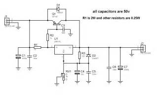 12v Bench Power Supply Circuit Zone Com Electronic Projects Electronic