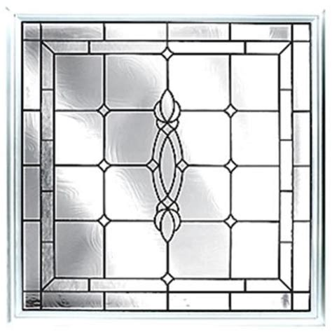 hy lite 25 in x 25 in decorative glass fixed vinyl