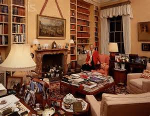 Ideas For Old Bookcases Princess Michael Of Kent In Kensington Palace British