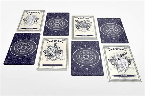 Tarot Card Template Psd by Tarot Card Mockup Graphicriver Products Mockup