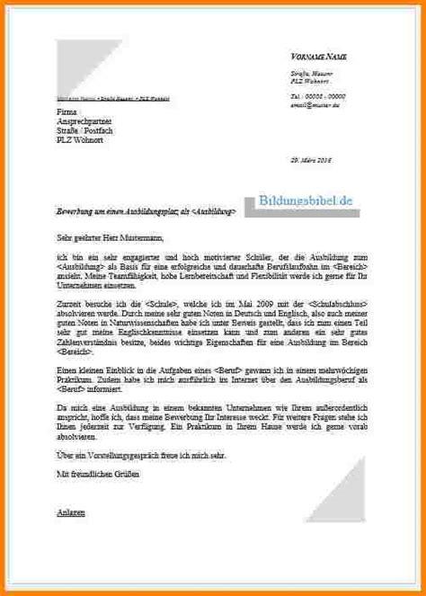 Anschreiben Ausbildung Industriemechaniker Vorlage 12 Lebenslauf Bewerbung Ausbildung Resignation Format