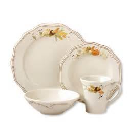 pfaltzgraff thanksgiving plymouth dinnerware set 16 pc