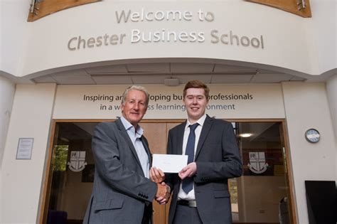 Of Chester Mba by Philip S Work Pays As He Embarks On A Career In