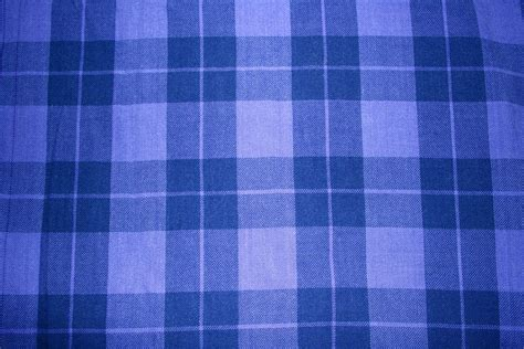 Blue Plaid by Indigo Blue Plaid Fabric Texture Picture Free Photograph