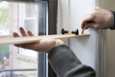 diy floating window shelves design sponge