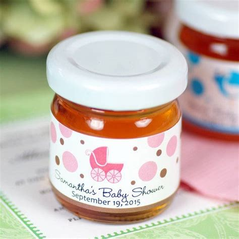 Baby Shower Favors Honey Jars by Personalized Baby Shower Honey Jar