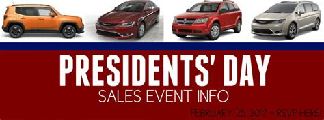 Jeep Presidents Day Sale 2017 President S Day Sales Event Racine Wi