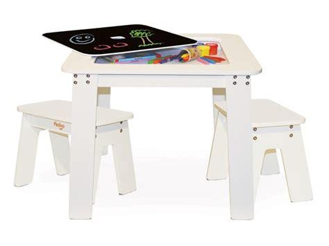 p kolino chalk table and benches p kolino white chalk table and benches kids toys