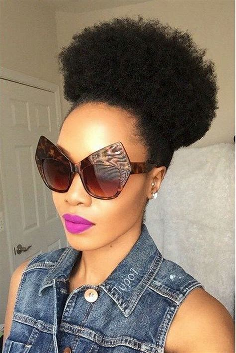 human afro puff hair short afro puff clip on kinky curly drawstring human hair