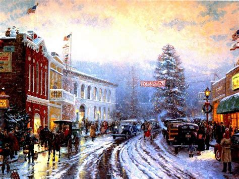 wallpaper christmas scenes old fashioned christmas wallpapers wallpaper cave