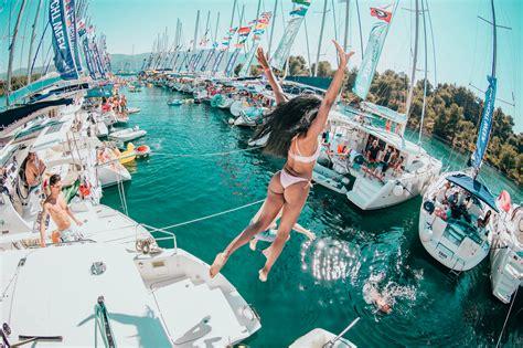 croatia yacht week trip   days   places
