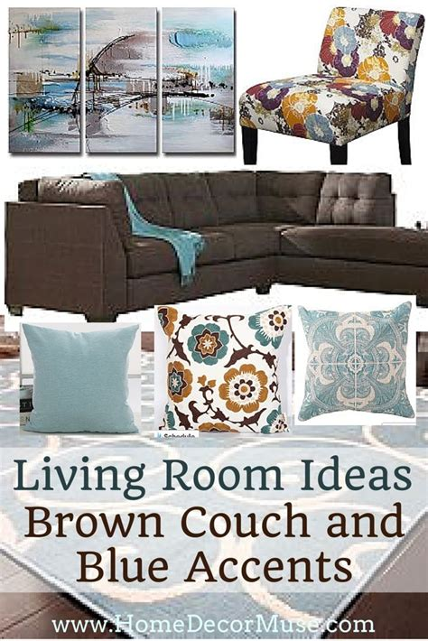 blue and brown sofa best 25 brown living room furniture ideas on pinterest