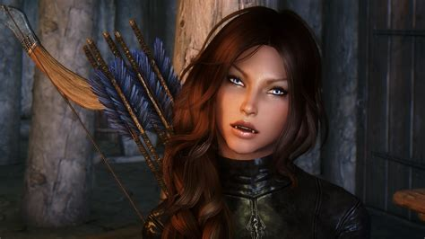 skyrim hair changer danariel stormbow follower with body changer at skyrim
