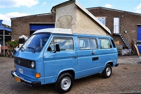 volkswagen vanagon blue blue pop top vw t25 cers pinterest vw bus and