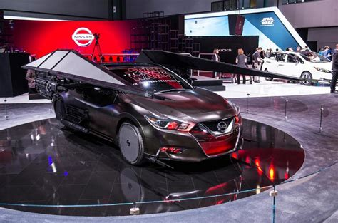 Star Wars Auto by Nissan Showcases Six Star Wars Themed Concept Cars Autocar
