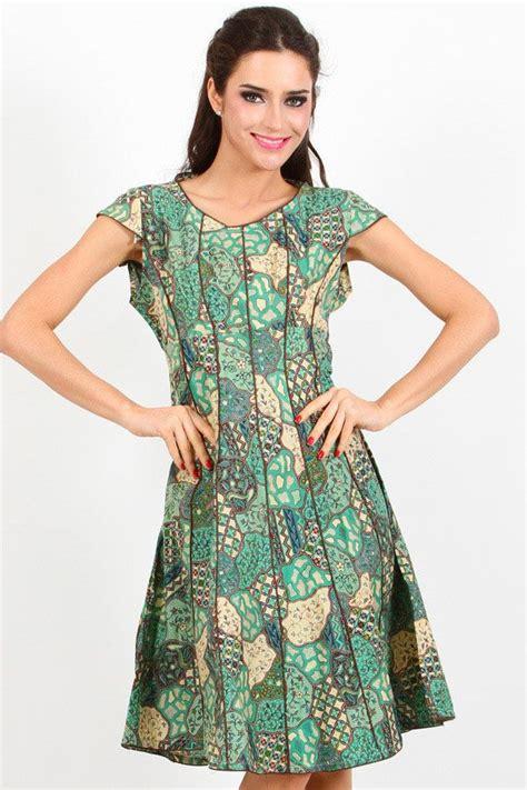 lestari batik dress batik indonesia