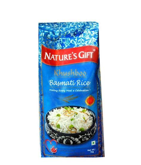 Packet Of World Com Gift Cards - buy nature s gift khushboo basmati rice packet of 1 kg online at best price in india